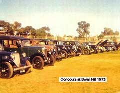 Armstrong Siddeley Car Club Concours dElegance - Swan Hill 1973